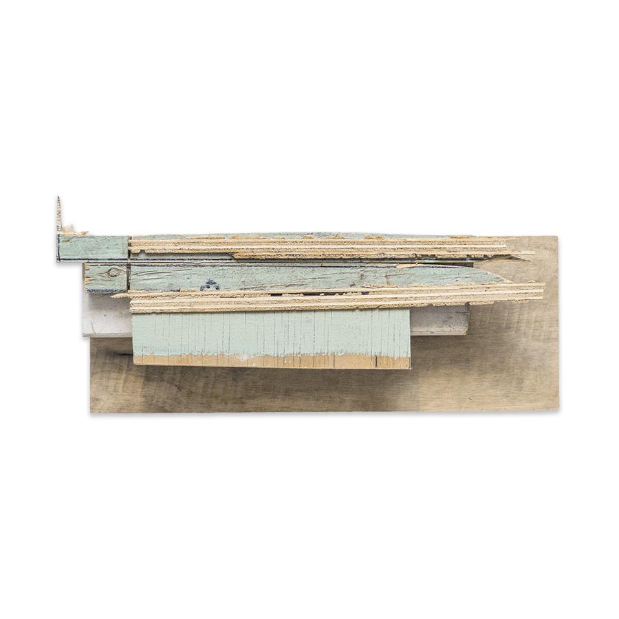 PIECES OF LOFT 2016 found wood 9 x 3 x 16.5 in