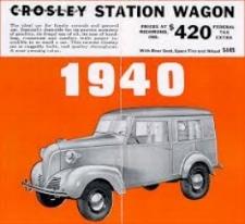 Crosley 2A Station Wagon