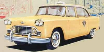 The iconic Checker cab