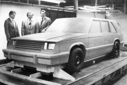Modern Checker Prototype based on the general motors x-body ( www.Hemmings.com )