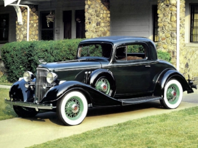 1933 Pontiac straight Eight Coupe -With Good value and great looks,Pontiac rides out the darkest days of the depression. (www.DenzosGarage.com)