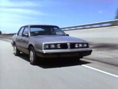 1983 Pontiac 6000STE  - OK, Maybe IT WAS a homegrown Audi THAT america was ready for. (source unknown)