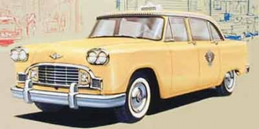 the iconic checker Cab ( www.checkerworld.org )