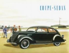 1936 Lincoln Zephyr (Lincoln Advert: Circa 1935)