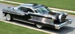 the 1958 Oldsmobile - itself no beauty queen ( www.americandreamcars.com )