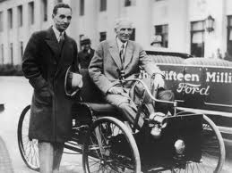 Edsel, Henry and the first Ford