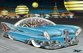 The Utopian Turtletop? What might have been: Cosmic Edsel by Britt8m (www.pinterest.com)