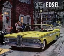 1959 edsel: What if they'd started off with this one?