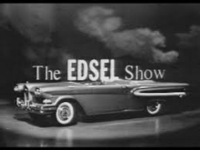 The Edsel Show on CBS Television
