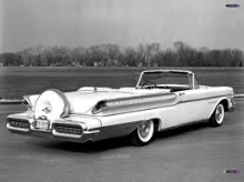 Mercury was going uptown for '57