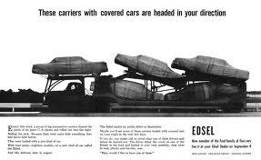 Edsel Advert CIRCA 1957