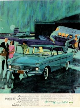 1965 Willys Itamaraty (advert CIRCA 1965)