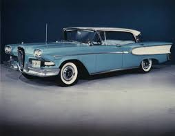 1958 Edsel: Obsolete on the drawing board