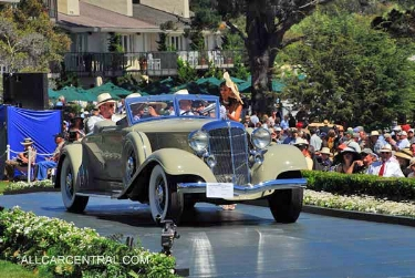 1933 Chrysler Imperial CL LeBaron Speedster: One of 2 best in shows for imperial at pebble beach (www.allcarcentral.com