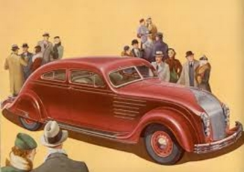 1934 Chrysler Imperial CV Airflow Coupe: too Far ahead of its time ( www.ImperialClub.com )
