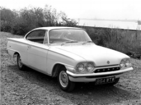 Ford Consul Capri: A Galexie in size small ( www.Classics.HonestJohn.co.uk )