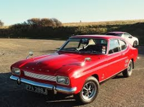 Ford Capri: A pony car with continental flair ( www.barons-auctions.com )