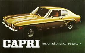 The Capri comes to America