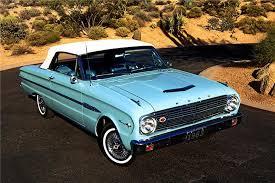 1963 Ford Falcon: A compact more in tune with American Tastes (www.Barrett-Jackson.com)
