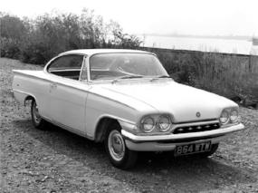 1962 Ford Consul Capri: A Galaxy in size small (www.classics.honestjohns.uk)