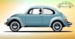 The Volkswagen Beetle (Vector.com)