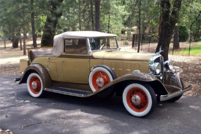 ...THAT CAR WAS THE  1932 PONTIAC MODEL 302 V8  - STUFFING A BIG CAR'S ENGINE IN A LIGHTER MODEL?HEY, when they did THAT 30 YEARS LATER WITH THE GTO, WASN'T IT CALLED A MUSCLE CAR?   ( www.Barritt-Jackson.com )