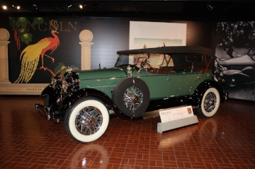 1929 Lincoln Model L     Gilmore museum        Photo by mal pearson