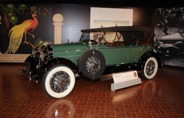 1928 Linclon Model L Body by LeBaron (taken at the Gilmore Museum by Mal Pearson)