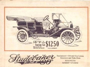 1910 Sudebaker E-M-F Touring car (www.americanautomobiles.com)