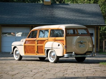 1950 Plymouth Special DeLuxe wagon:  LAST OF A KIND (WWW.RMSouthbys.COM)