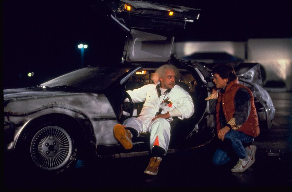 at least time would be kind to the Delorean