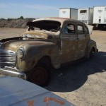 Junked '41 Plymouth