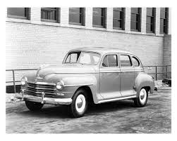 1946-49 Plymouth: Playing the seller's market. (www.automotivetimelines.com)