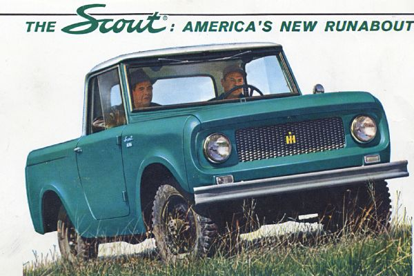 1961 International Scout 80