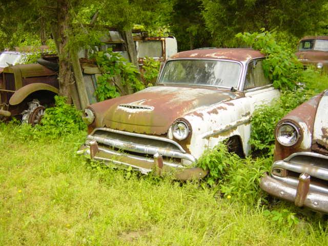 junkyard jets (www.CurbsideClassic.com)