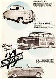 Promotional Advert Circa 1946 ( www.hansenmechanical.wordpress.com )