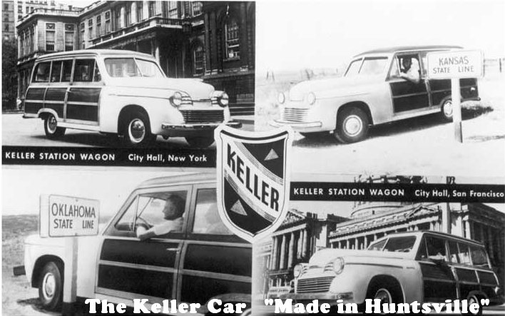Keller promotional advert Circa 1949 ( www.HuntsvilleRewound.com )