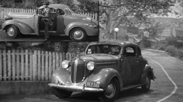 1937 Plymouth P3 DeLuxe Coupe (The Big Sleep, Warner Bros. 1946)