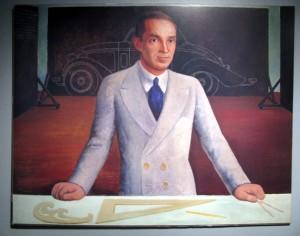 Edsel Ford portrait by Diego Rivera