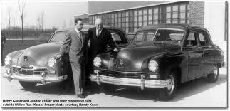 Henry J Kaiser and his 1946 lineup