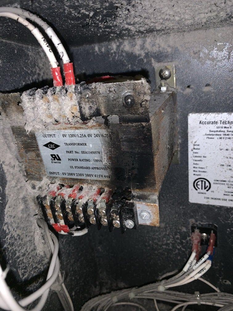 Pic of damaged transformer (1).JPEG