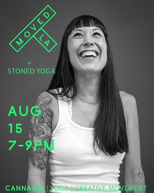 Join @ashlee_langas & @movedla this Thursday for a very special workshop where you are encouraged to use cannabis products to deepen your yoga and creative movement practices. - Class is from 7-9pm and the location is 2926 Gilroy St, 90039. - Grab your buds and let's #getwavvy - Link to purchase in bio! @professorx_tmr will be joining us on the decks. @namasteorganic will be there with her balms, tinctures and oils. Also happy to welcome @highanddryrelief!