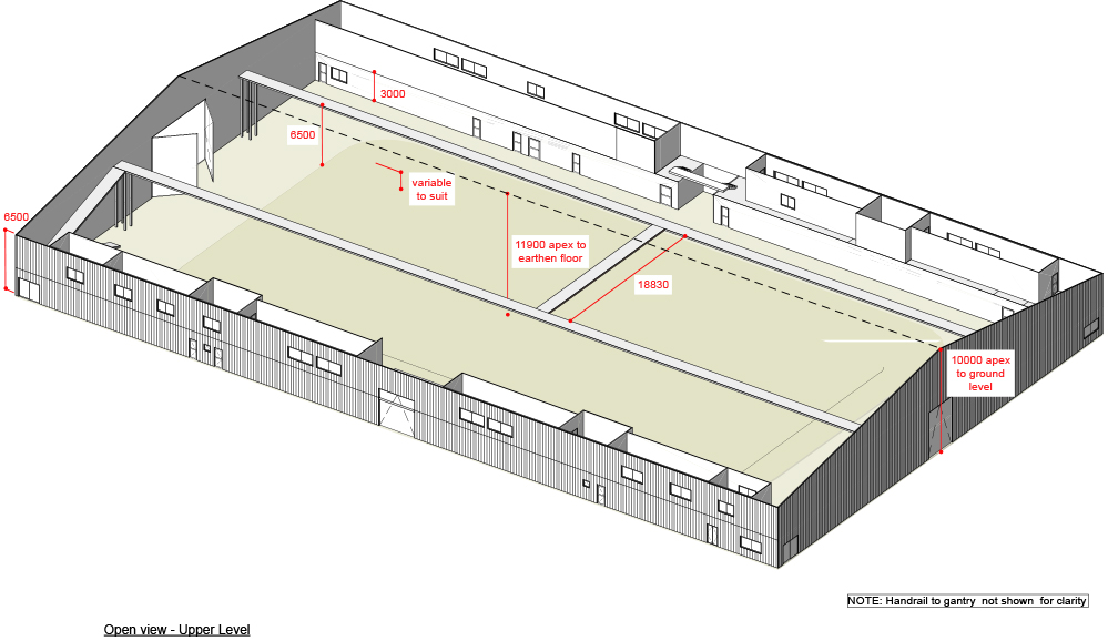 DOWNLOAD   Upper Level Perspective View