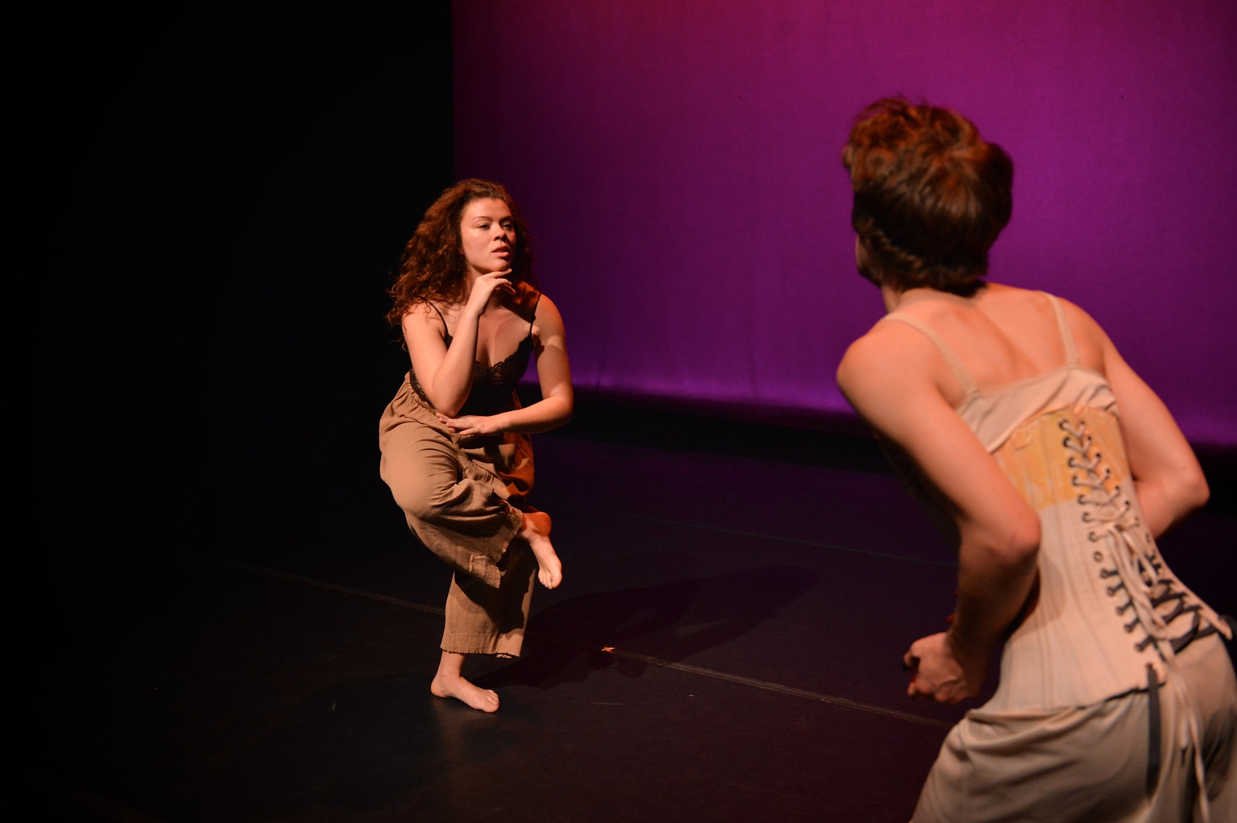 Calla Lilly in Over and Over, Devised and Directed by Anna Betteridge