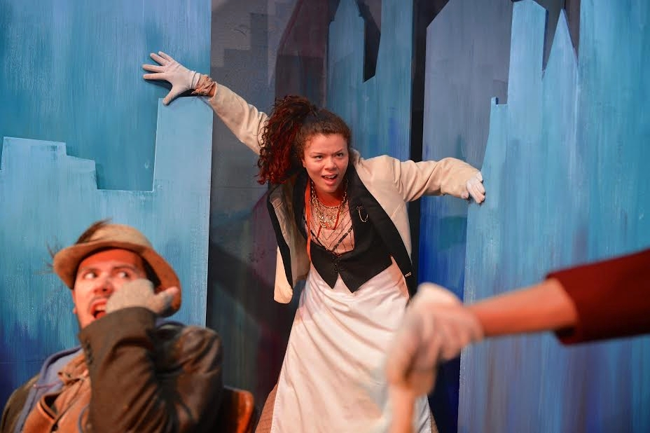City Her in Gifts of the Magi, Directed by Scott Ebersold