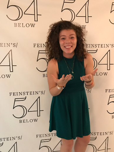 Backstage at the Toast to Post Cabaret at 54 Below