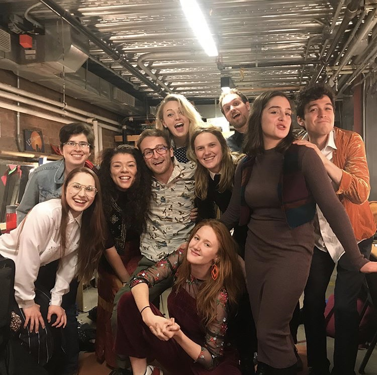 """Backstage with the cast of """"Valley Girls"""" at Dixon Place"""