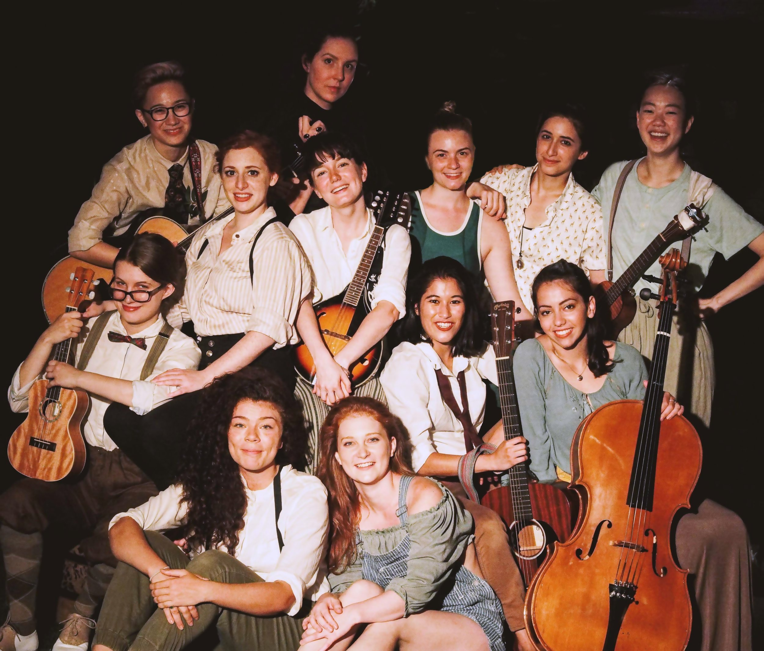 Whole Cast of 'As You Like It', Directed by David Andrew Laws