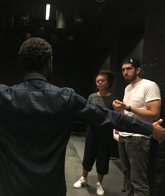 In Rehearsal for Hype Man at The Flea Theater