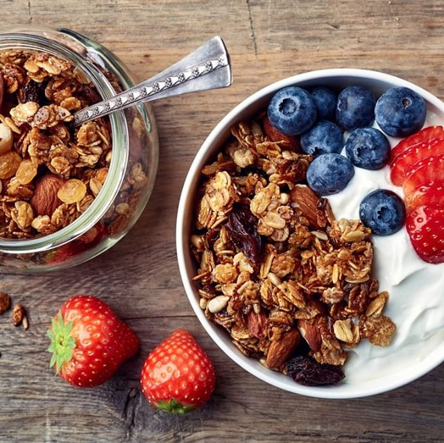 Homemade granola with cinnamon and agave syrup #fitness12retreats #fitness #retreats #breakfast #food #diet #nutrition #happiness #wellbeing #wellness #health #travel